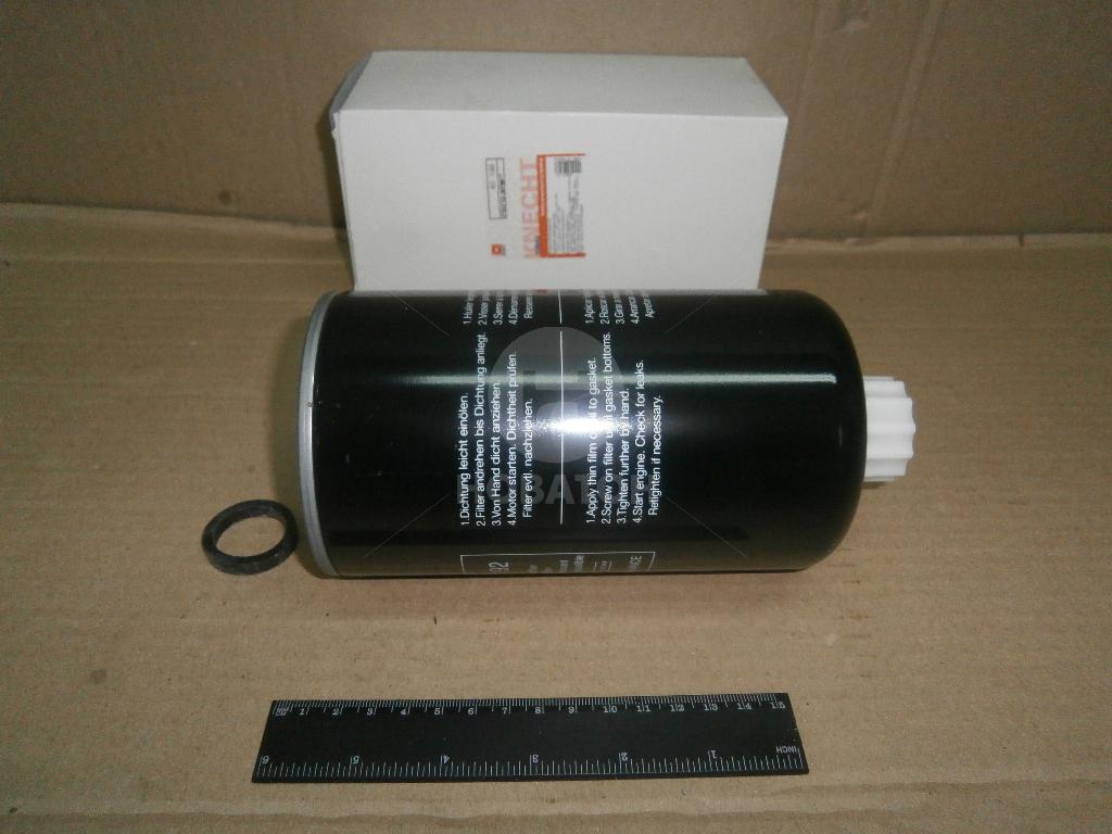 Фильтр топливный MAHLE Knecht KC 192 резьба 1-14