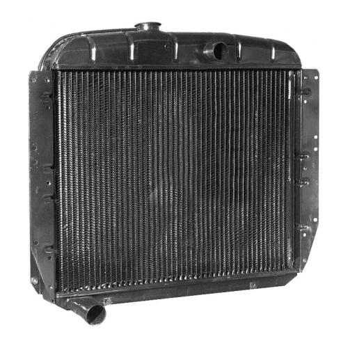 Радиатор охлаждения Зил-130 медный 130-1301010
