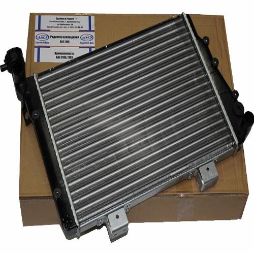 Радиатор охлаждения ВАЗ 2106  2106-1301012 аллюминий