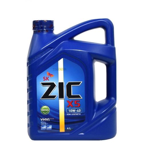 ZIC X5 дизель 10w40 п/с 4л