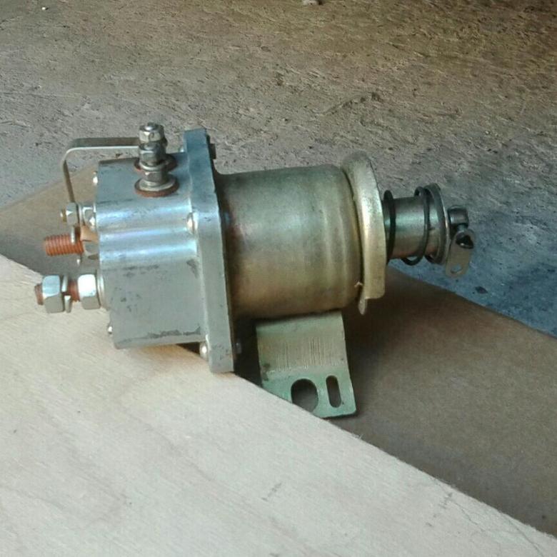 Реле втягивающее РС-14Б